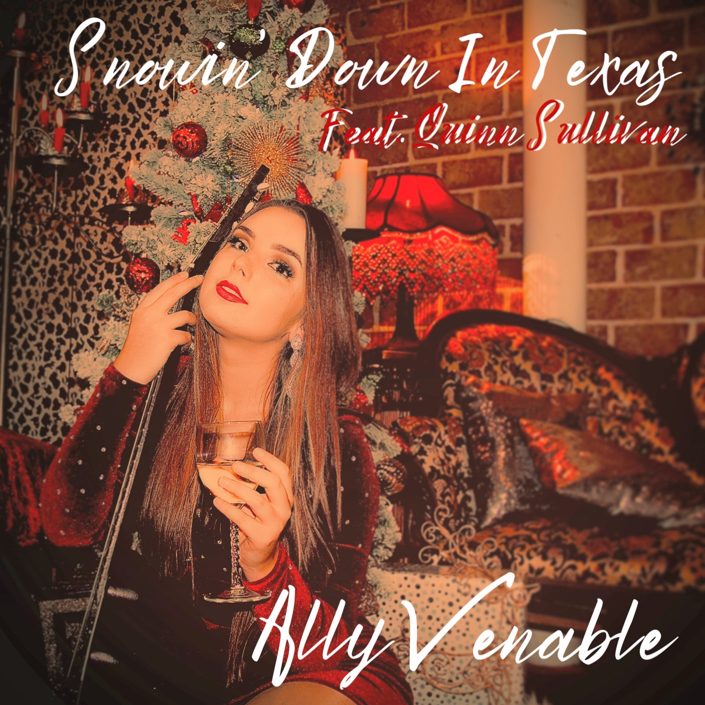 Neue Weihnachtssingel – Snowin' Down In Texas – Ally Venable